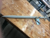 This student built rocket was fired on February 14th 2018. This rocket achieved a maximum altitude of 1.68 kilometres while attaining a velocity of Mach 1.21 (supersonic) according to our Pnut PerfectFlight altimeter which uses a 24 bit ADC and high precision sensors. Accuracy margin of error is usually between 0.5% - 0.1%.